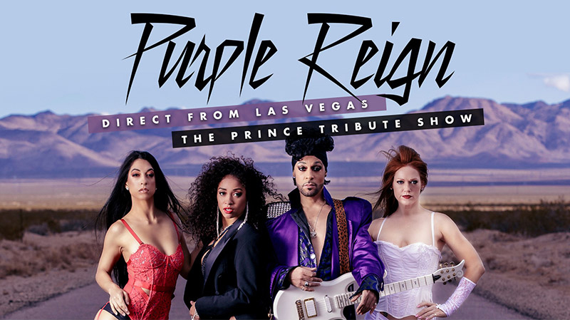 Purple Reign - Direct from Las Vegas - The Prince Tribute Show